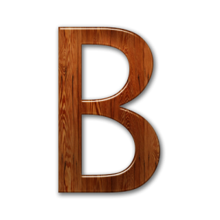 Letter B Icon Symbol PNG images