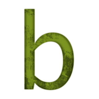 Save Png Letter B PNG images