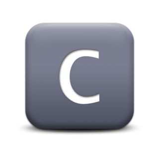 Vector Letter C Icon PNG images