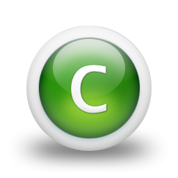 Icon Letter C Free PNG images