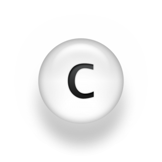 Icon Letter C Vector PNG images