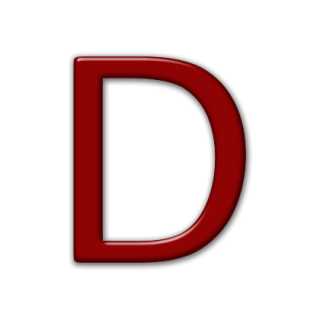 Icon Letter D Drawing PNG images