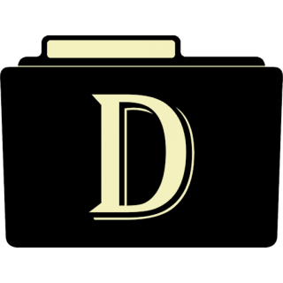 Letter D .ico PNG images