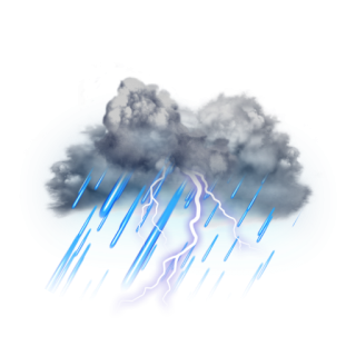 Clouds And Lightning Effects PNG PNG images
