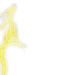 Yellow Lightning PNG images