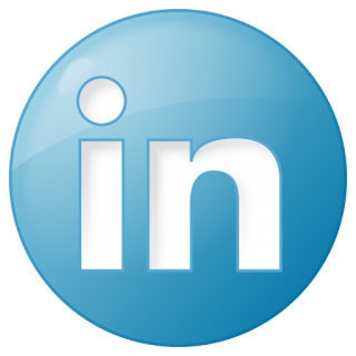 Social Linkedin Button Blue Icon | Social Bookmark Iconset | YOOtheme PNG images