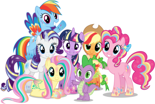 Group Little Pony PNG Pic PNG images