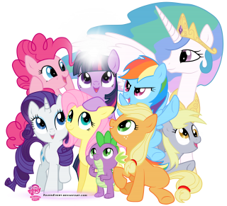 Little Pony Groups PNG Free Download PNG images