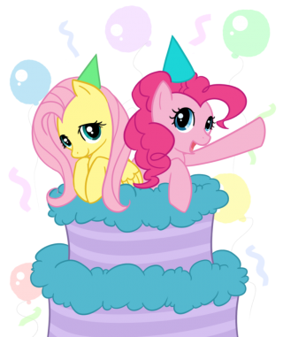 My Little Pony Birthday Celebration Cake PNG Picture PNG images