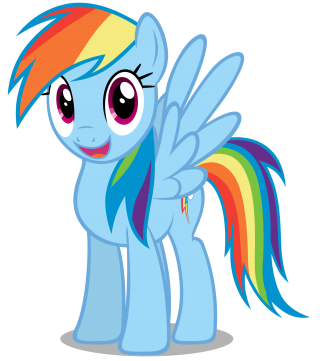 My Little Pony Rainbow Dash PNG images