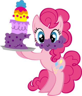 My Little Pony With Cake Designs Png PNG images