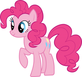 Pink Cute My Little Pony Clipart PNG images