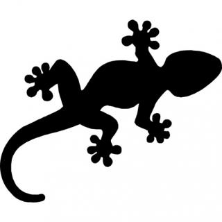 Animal Black Lizard Icon PNG images