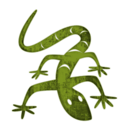 Green Lizard Icon PNG images