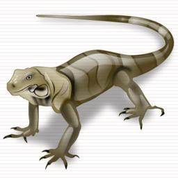 Lizard Vector Drawing PNG images