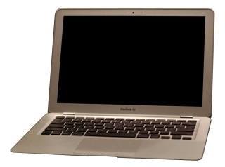 Gray And Pleasant Macbook Photo PNG images