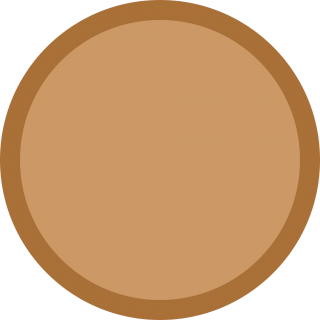 Bronze Medal Blank Icon PNG images