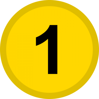 Medal, Number 1 Icon PNG images