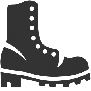 Military Boots Icon PNG images