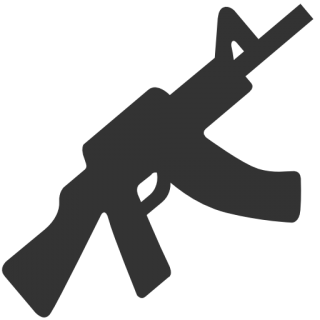 Military Rifle Icon PNG images