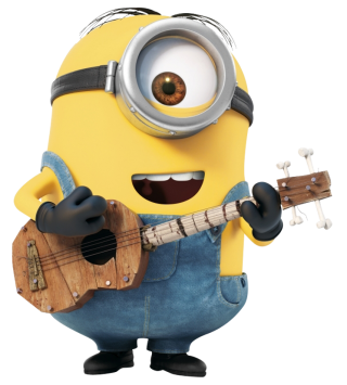 Minion With Guitar Png PNG images