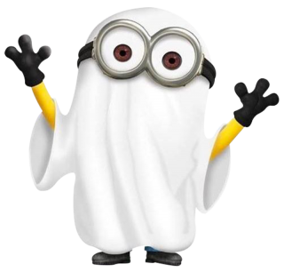 Minions Ghost Minion Boo Scary Png PNG images