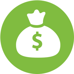 Size Money Icon PNG images