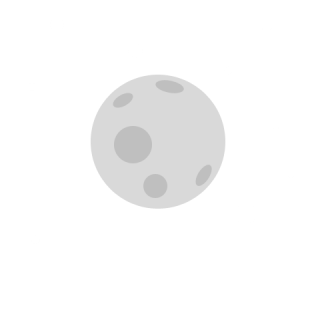 Moon Drawing Icon PNG images
