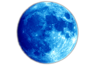 Blue Planet Moon Png PNG images