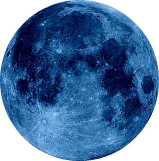 Moon Png Blue Hd Transparent PNG images