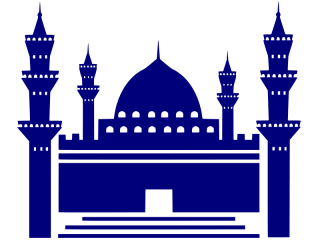 Mosque Blue Icon PNG images