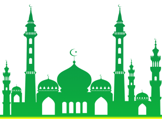 Mosque Green PNG Vector PNG images
