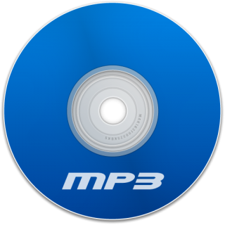 Mp3 With Cd Icon PNG images