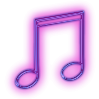Purple Music Note Icon PNG images