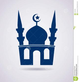 Vector Muslim Drawing PNG images