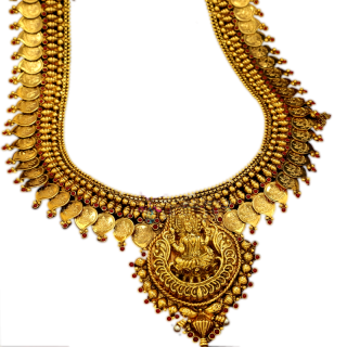 Heavy Weight Gold Necklace Jewellery Transparent PNG images