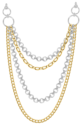 Multi Strand Jewelry Necklace PNG images