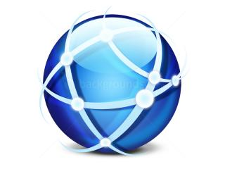 Global Network Icon (PSD) | Backgroundsym PNG images
