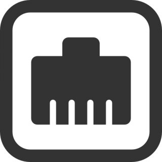 Wired Network Icon PNG images