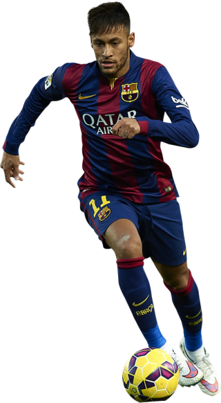 Neymar Football Png PNG images
