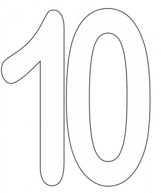 Icon Number 10 Hd PNG images
