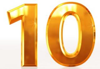 Number 10 Icon Svg PNG images