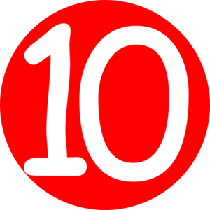 Icon Number 10 Png PNG images