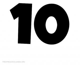 Number 10 Icon Library PNG images