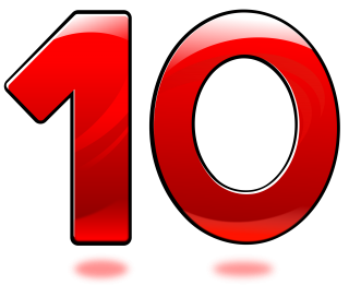Number 10 Icons No Attribution PNG images