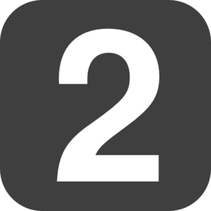 Save Number 2 Two Png PNG images