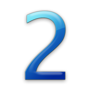 Number 2 Two Drawing Vector PNG images