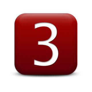 Number 3 Icon Vector PNG images