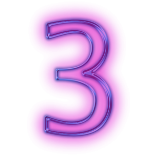 Number 3 Files Free PNG images
