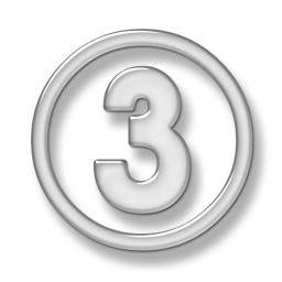 Number 3 Icon Free Png PNG images